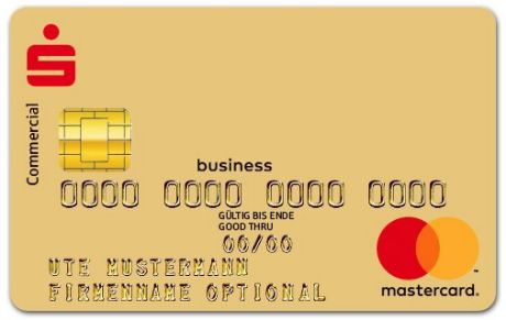 Abbildung MasterCard Businesscard One GOLD