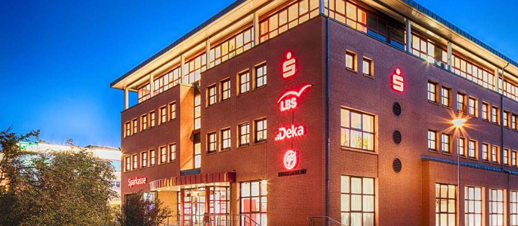 Hauptgeschäftsstelle der Stadtsparkasse Schwedt